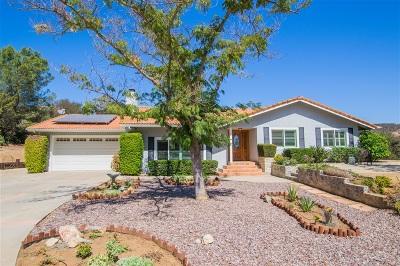 Valley Center Single Family Home For Sale: 31012 Saddleback Rd.
