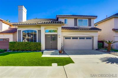 Chula Vista Single Family Home For Sale: 1087 Forest Lake