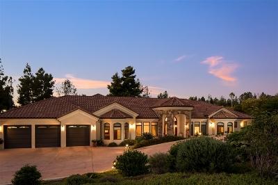 San Diego Single Family Home For Sale: 18684 Bernardo Trails Drive