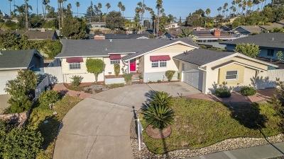 La Mesa Single Family Home For Sale: 5665 Severin Dr.