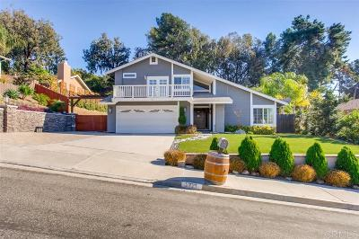 Carlsbad Single Family Home For Sale: 2721 Chestnut Ave