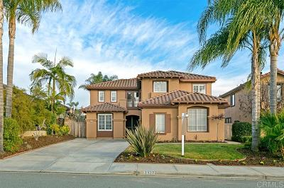 Carlsbad Single Family Home For Sale: 2327 Paseo Saucedal