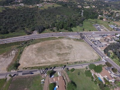 Valley Center Commercial Lots & Land For Sale: 27251 Valley Center Road