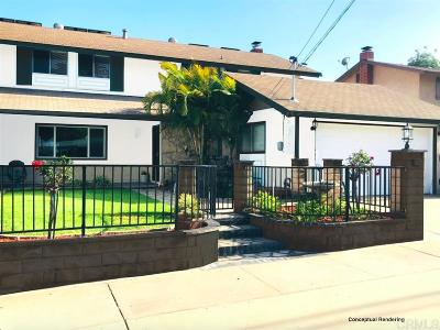 San Carlos Single Family Home For Sale: 8477 Tommy Dr.