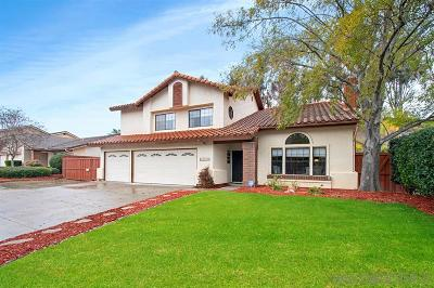 Poway Single Family Home For Sale: 12750 Triumph Dr