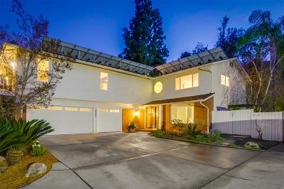 el cajon Single Family Home For Sale: 2080 Ventana Way