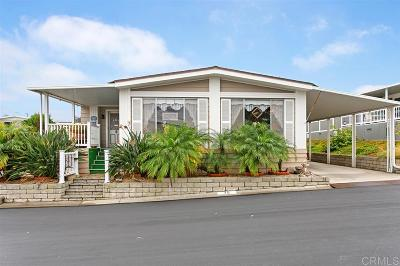 San Marcos Single Family Home For Sale: 1175 La Moree Rd #SPC 75