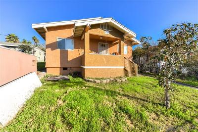 San Diego Single Family Home For Sale: 911 S 37th Street