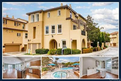 San Marcos Townhouse For Sale: 2454 Longstaff Ct