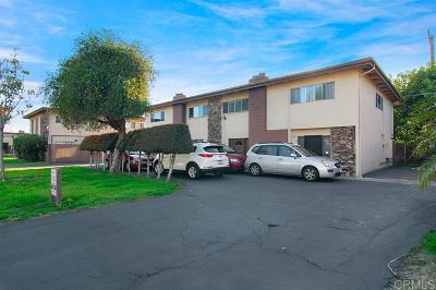 Chula Vista Townhouse For Sale: 410 Colorado Ave #B