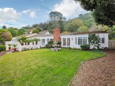 La Jolla Rental For Rent: 2569 Hidden Valley Road