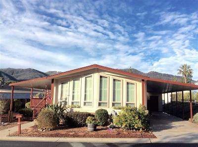 Citrus Gardens, Via Verde Estates, Lawrence Welk, Champagne Village, Rancho Escondido Mobile/Manufactured For Sale: 8975 Lawrence Welk Drive #261