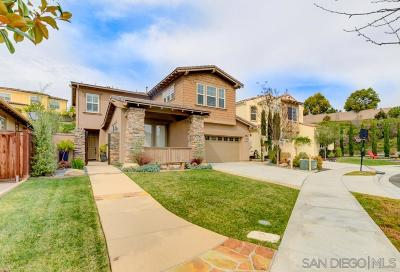 Carlsbad Single Family Home For Sale: 3760 Bergen Peak Pl