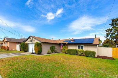 San Diego Single Family Home For Sale: 8346 Lake Ben Ave