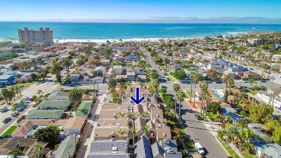 San Diego Townhouse For Sale: 915 Beryl #2