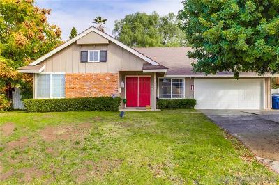Escondido Single Family Home For Sale: 818 Boyle Ave