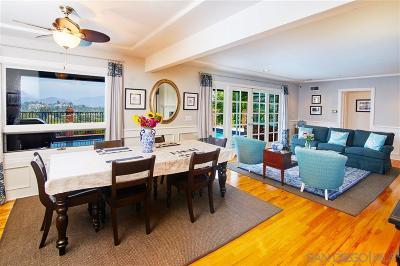 San Diego County Single Family Home For Sale: 4360 Mayapan Dr