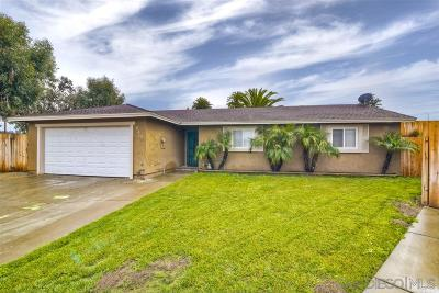 San Marcos Single Family Home For Sale: 643 Matthew Ln.