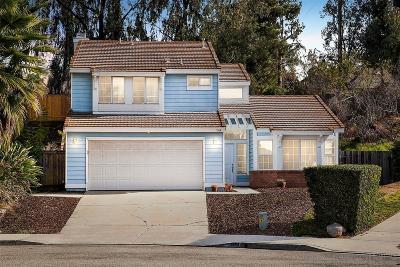 Escondido Single Family Home For Sale: 1144 Symphony Pl