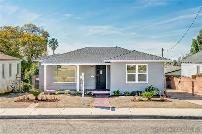 Single Family Home For Sale: 2424 N Ave