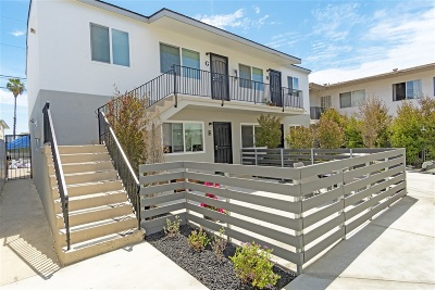 San Diego Multi Family 5+ For Sale: 4525 Felton Street
