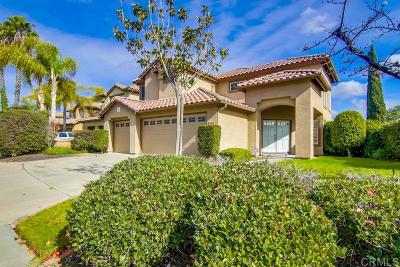 Chula Vista Single Family Home For Sale: 2491 Golfcrest Loop