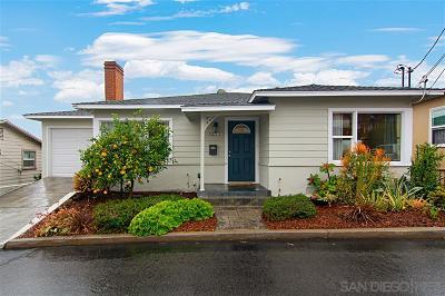 La Mesa Single Family Home For Sale: 8438 Sunrise Avenue