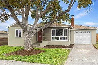 San Diego Single Family Home For Sale: 4013 Vista Grande Dr.