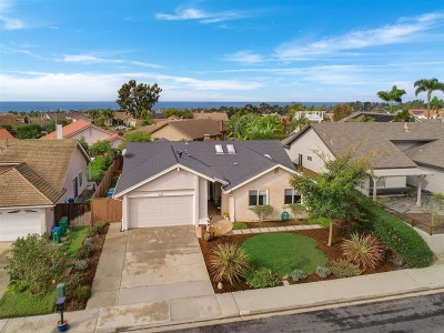 Carlsbad Single Family Home For Sale: 1027 Daisy Avenue