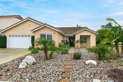 Oceanside Single Family Home For Sale: 3945 Cadena Drive