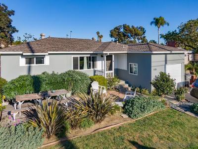 Oceanside Single Family Home For Sale: 1438 Moreno St