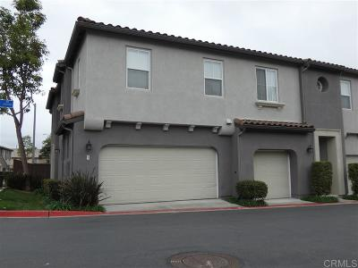 Chula Vista Townhouse For Sale: 2750 Crown Ridge Rd. #3