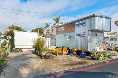 Encinitas CA Mobile/Manufactured For Sale: $98,000