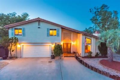 Escondido Single Family Home For Sale: 28537 Faircrest Way