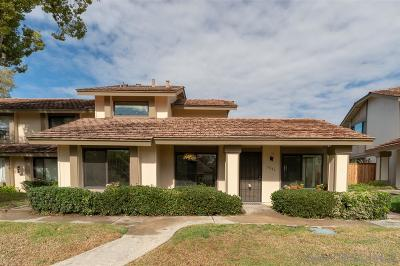 San Diego Townhouse For Sale: 9841 Guisante Ter