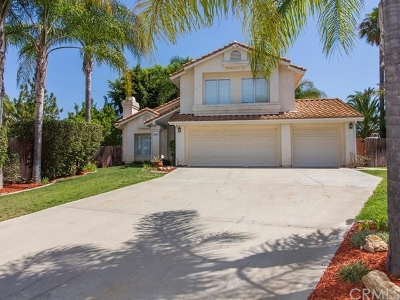 Fallbrook Single Family Home For Sale: 805 Porter Way
