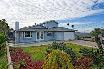 Chula Vista Single Family Home For Sale: 821 David Dr.