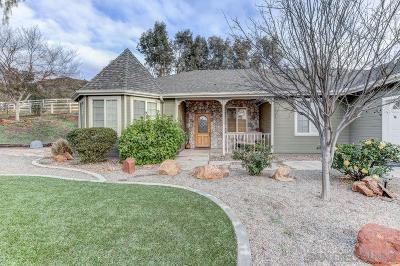 San Diego County Single Family Home For Sale: 16233 Swartz Canyon Rd