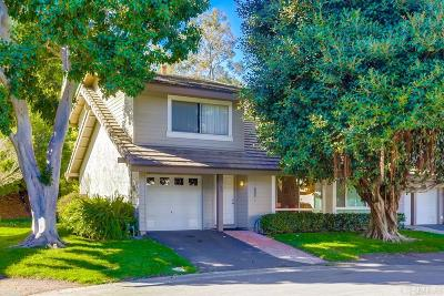 Solana Beach Townhouse For Sale: 508 Turfwood Lane