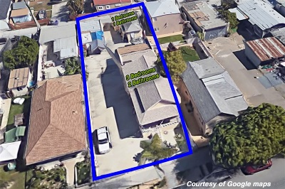 San Diego Multi Family 2-4 For Sale: 1842 Kearney Ave