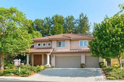 Escondido Single Family Home For Sale: 292 Camino Bailen