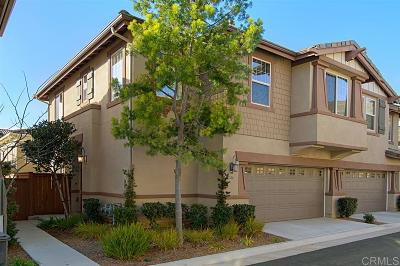 San Marcos CA Townhouse For Sale: $618,000