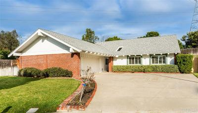 Carlsbad Single Family Home For Sale: 1858 Tule Ct