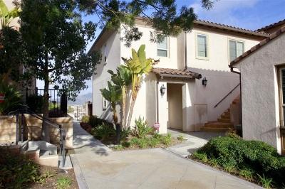 Chula Vista Townhouse For Sale: 2233 Capistrano Way #17