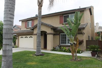 Chula Vista Single Family Home For Sale: 584 Sipes Circle