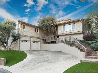La Mesa Single Family Home For Sale: 8726 Mariposa St