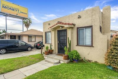 San Diego Multi Family 2-4 Sold: 3636 Fairmount