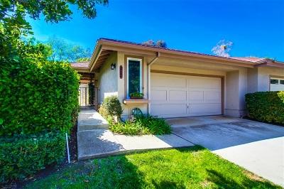 San Marcos Attached For Sale: 1655 Via Brisa Del Lago