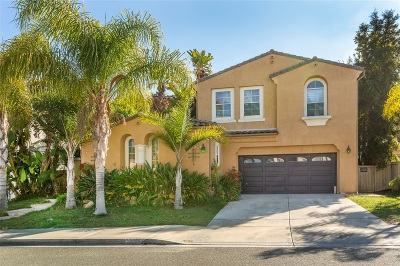 Chula Vista CA Single Family Home For Sale: $830,000