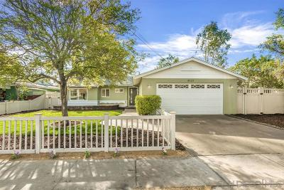 San Diego Single Family Home For Sale: 8121 Beaver Lake Dr
